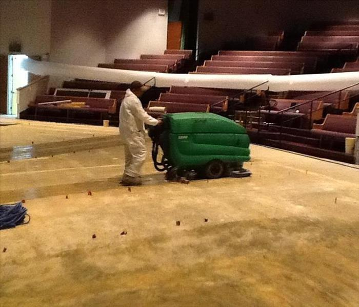 Flooding in Houston Mega Church