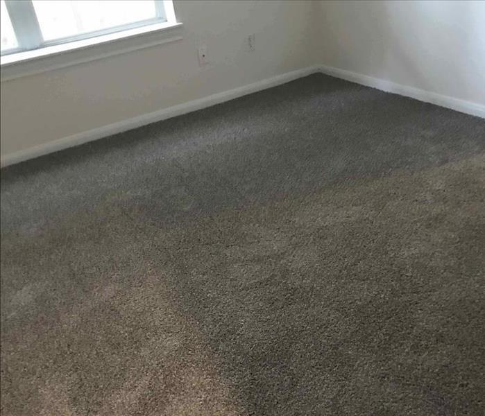 Carpet install after water damage