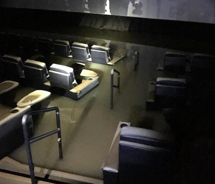 Flooding in Theater