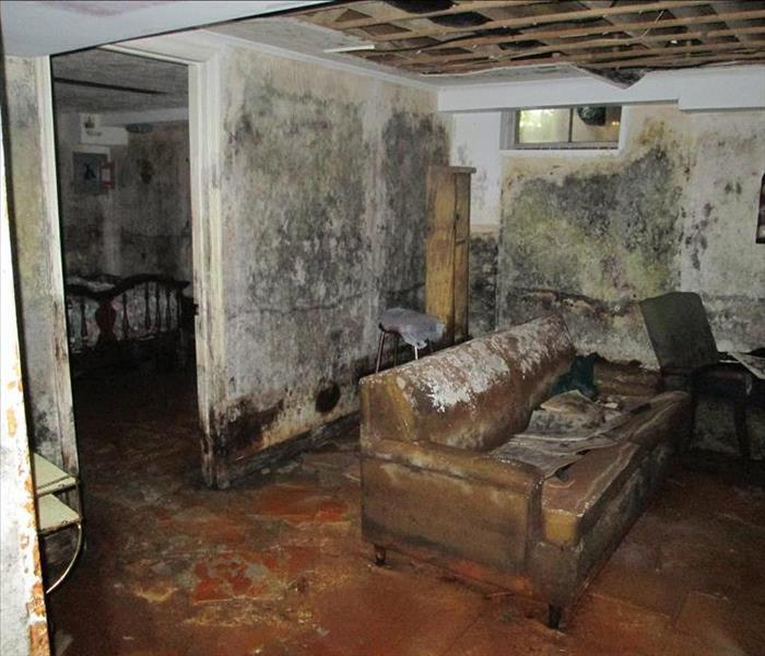 Flooded Basement In Commercial Property: Memorial Home Care: 6 Common Structural Problems Caused By Water Damage